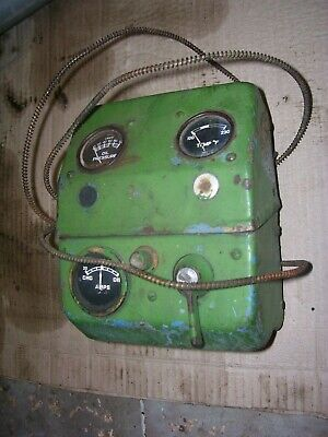 Vintage Fordson Major Diesel Tractor -gauge Switch Box Assembly