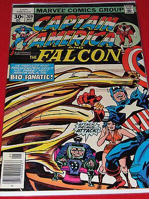 Marvel Comics Group Captain America   The Falcon   Bio   Fanatic Issue 209