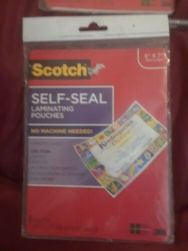 Scotch Self-Sealing Laminating Sheets, 6.0 mil, 8 1/2 x 11, 10/P 021200473111