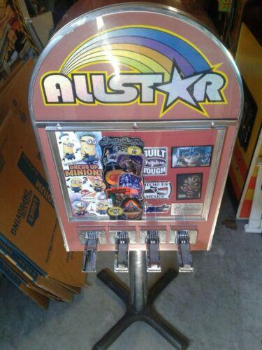 All Star Arcade Sticker Vending Machine