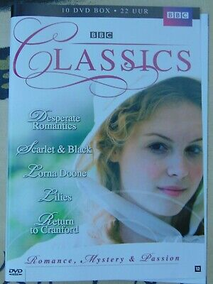 BBC Classics 10 DVD collection (22 hours) Romance, mystery & passion