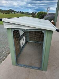 COLOURBOND SMALL ANIMAL PEN or converts to LARGE DOG KENNEL