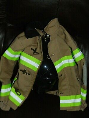 Occupation Dress Up (Teetot And co. Firefighter  Dress-up Size 3-4 jacket and helmet)