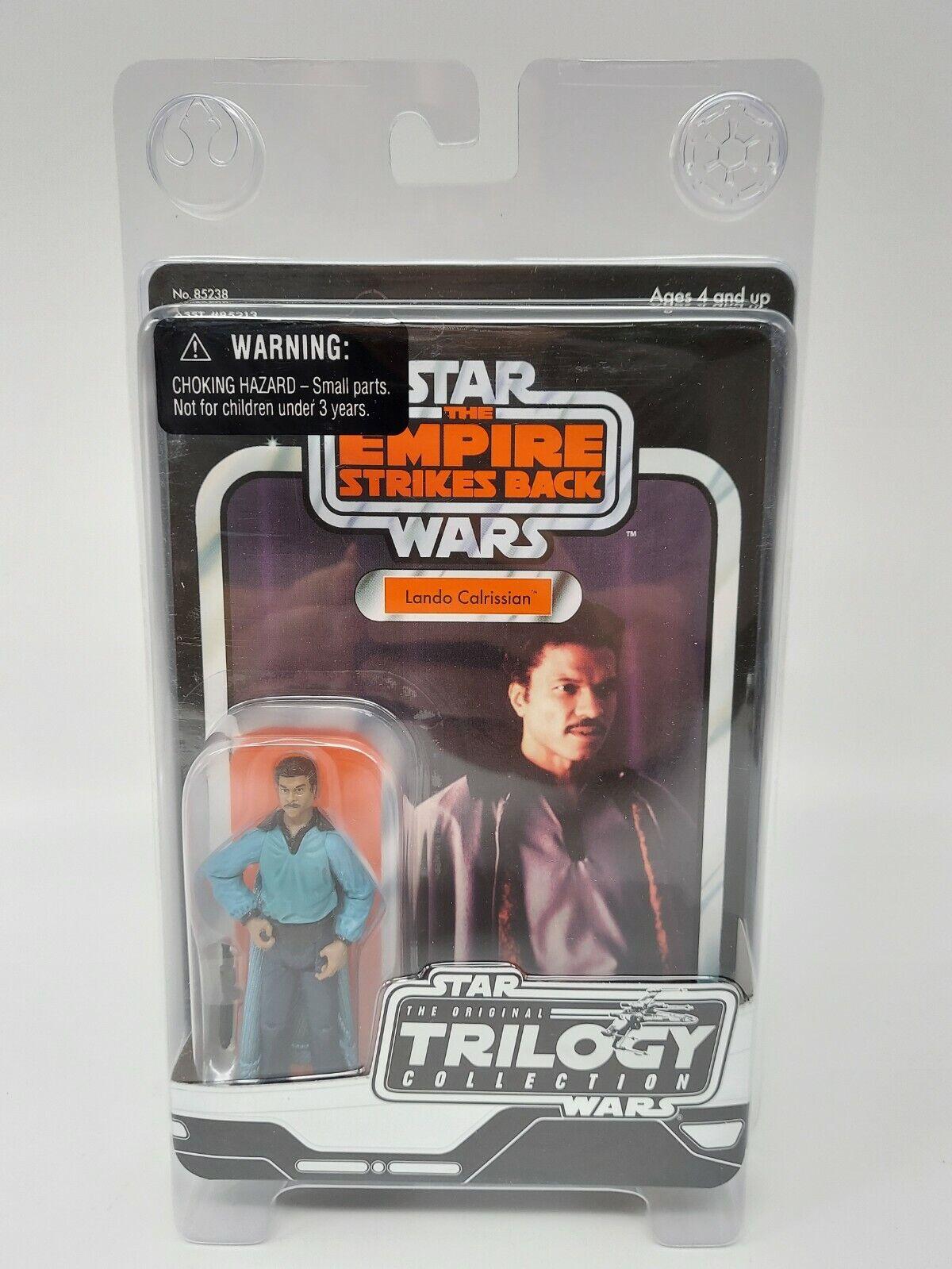 Star Wars Trilogy Collection Lando on Vintage Cardback - Factory Sealed
