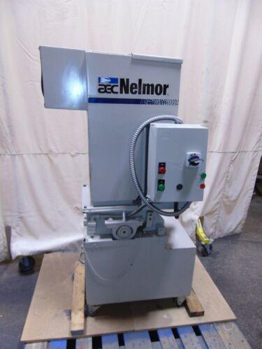 10 x 8 Industrial 5 HP AEC Nelmor Plastic Granulator Grinder 3 Phase