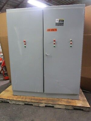 Hoffman A907224fsd 90x72x24 Hinged Free Standing Electrical Enclosure Type 12