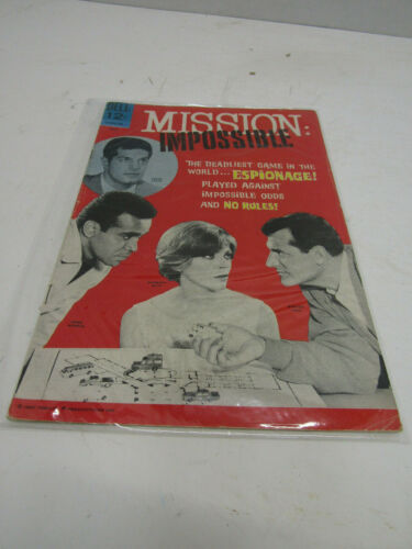 OLD MISSION IMPOSSIBLE COMIC BOOK COLLECTIABLE GOLD KEY