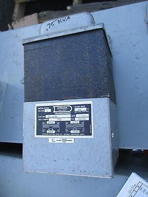 Dongan .750 Kva 1 Phase 277x120240 Volt Transformer- T1161