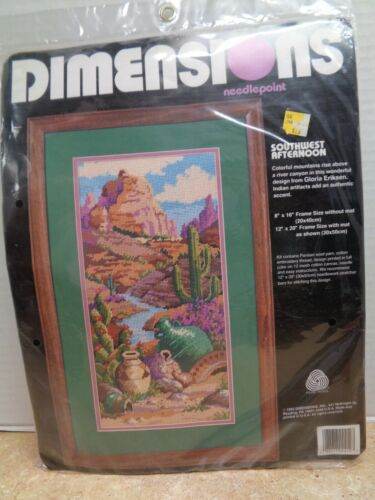 Sealed Dimensions Southwest Afternoon Needlepoint Kit REVISED $