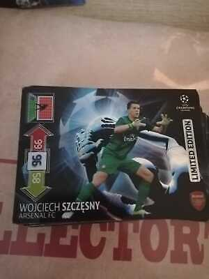 Panini UEFA Champions League 2012-2013 LIMITED EDITION Szczesny for sale  Shipping to Nigeria