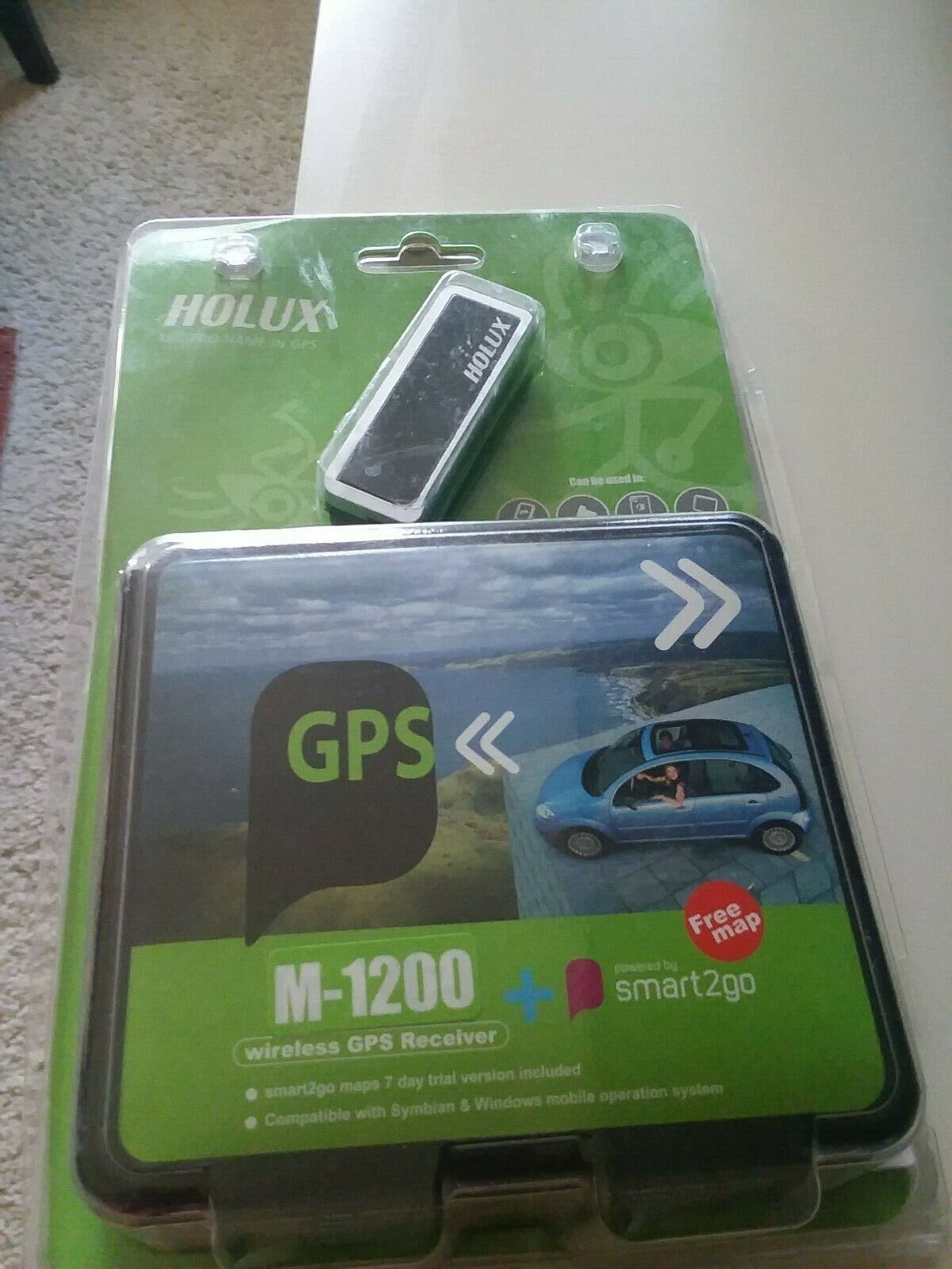 HOLUX  GPS M-1200 GPS RECEIVER, NEW OPEN PACK