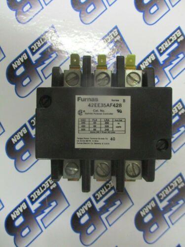 FURNAS 42EE35AF428, 60 AMP 600V CONTACTOR W/ 120 VOLT COIL