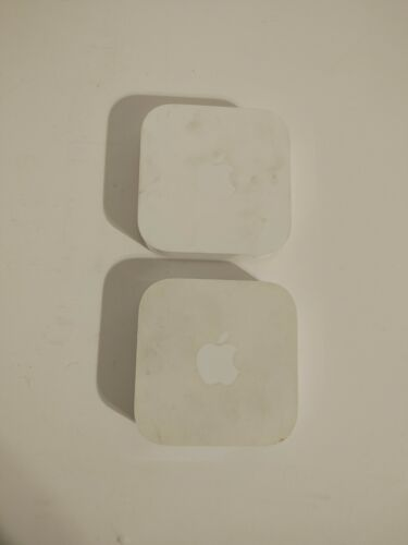 Apple Airport Express A1392 2nd Gen MC414LL/A 802.11n Dual-Band Wi-Fi Router FS!