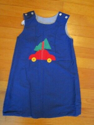 The Bailey Boys Reversible Christmas Tree /School Jumper Dress Size 4