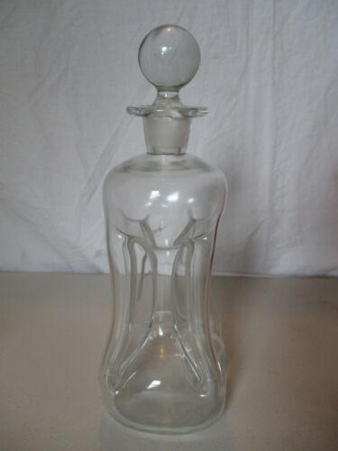 HOLMEGAARD KLUK KLUK PINCH ART GLASS DECANTER MCM MID CENTURY Danish MODERN