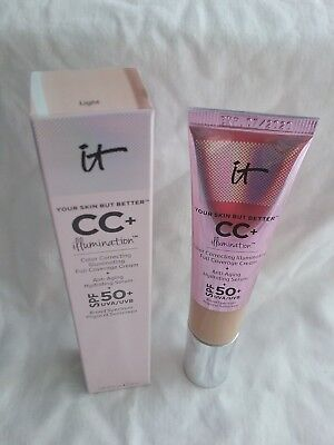 IT COSMETICS YOUR SKIN BUT BETTER CC+ ILLUMINATION FULL COVERAGE CONCEALER
