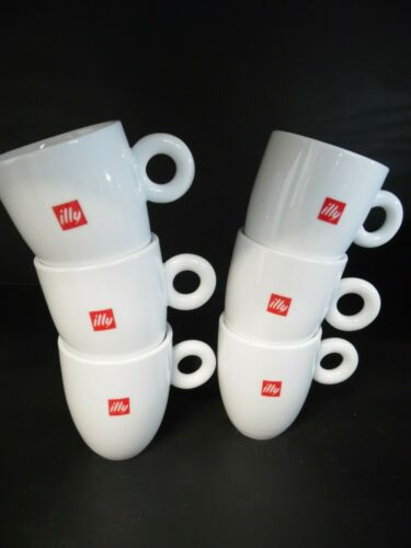 ILLY COFFEE MUG  6 EA