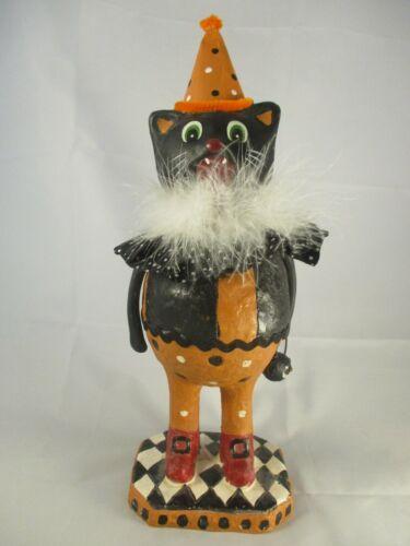 Halloween Party Black Cat Figurine