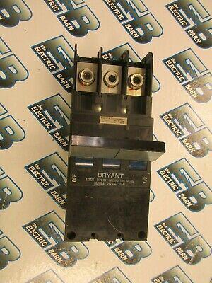 Bryant Bj3225 3 Pole 225 Amp Circuit Breaker- Warranty