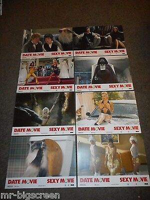 DATE MOVIE - ORIGINAL SET OF 8 SWISS LOBBY CARDS - ALYSON HANNIGAN