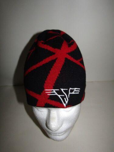 Emily the Strange Black Red Beanie Hat Cap 00s Y2K Fashion