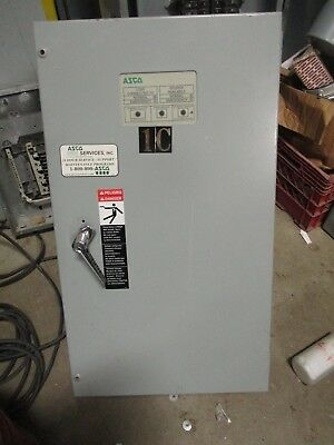 Asco 70 Amp 120208 Volt 3 Automatic Transfer Switch- Ats284
