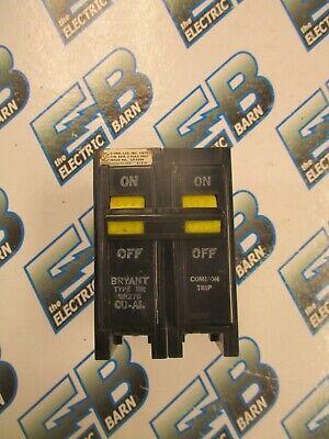 Bryant Br270 70 Amp 2 Pole 240 Volt Circuit Breaker- Warranty