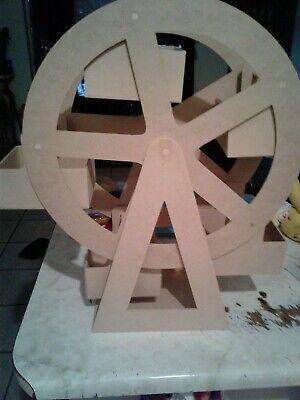 Candy Bar Stand Table Decoration Centerpiece Wooden Ferris Wheel ( can rotate) ](Ferris Wheel Centerpiece)