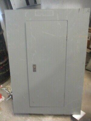 Square D Qob3100vh Main Breaker 120208 Volt 30 Circuit Nqod Panelboard- E2355