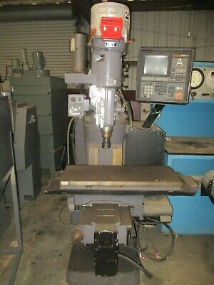 Bridgeport Series I Cnc Vertical Mill With Crusader Multiprocessor Controlnice