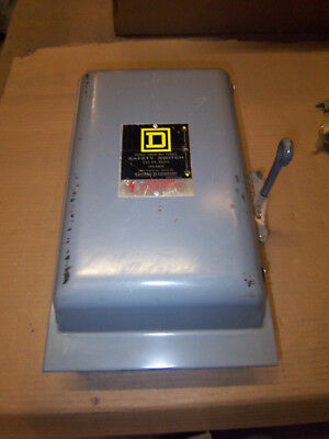New Square D 100 Amp 240v 82253 Type 1 Single Phase Manual Transfer Switch