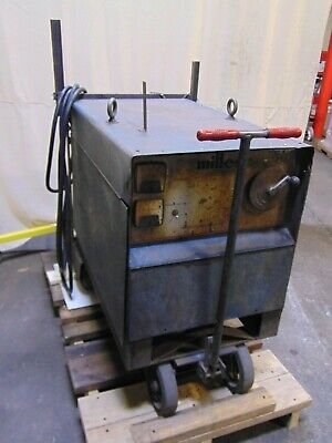 Miller Electric 250 Amp Constant Potential Dc Welder Power Supply Cp-250sm