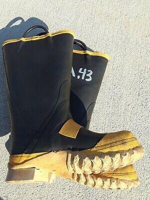Firefighter Bunker Gear Boots