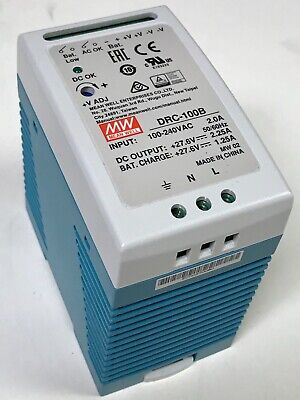 24V 1.8A MEAN WELL S-40-24 POWER SUPPLY S4024 OUTPUT