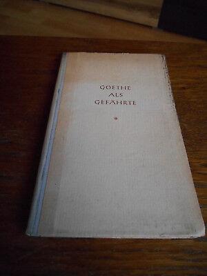 Goethe als Gefährte-Limes Wiesbaden-1-5 Tausend-1947