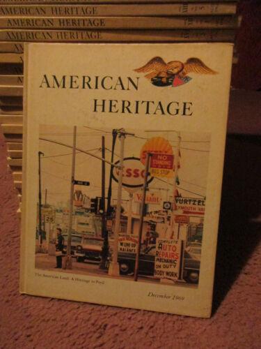53 Vintage American Heritage Hardbound Books,1958,59,60,Thru 60