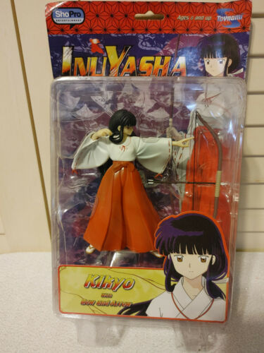 "InuYasha: Kikyo 6"" Action Figure with Bow & Arrow NEW! Bandai 2005 Toynami Anime"