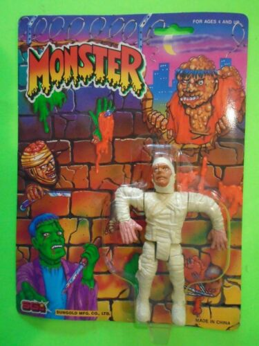 SUNGOLD MONSTER THE MUMMY UNIVERSAL MONSTERS FIGURE MOC EXCELLENT SEALED RARE