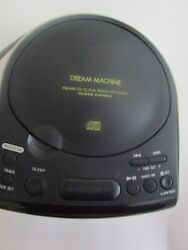 Sony ICF-CD815 AM/FM Stereo CD Clock Radio with Dual Alarm Discontinued Vintage