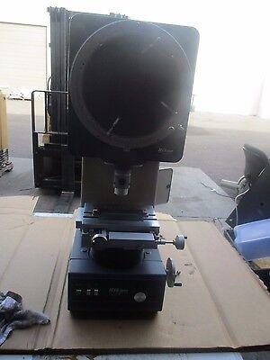 Nikon Model V-12 Profile Projector 20x Objective