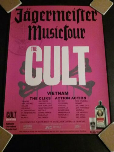 THE CULT- Born Into This Promo Poster