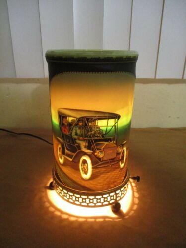 Vintage 1957 ECONOLITE Ford Model T Stutz Bearcat Spinning Motion LIGHT LAMP