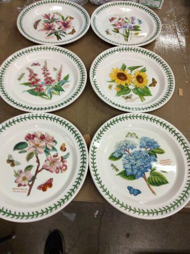 Portmeirion botanic garden set of 6 assorted dinner  plates