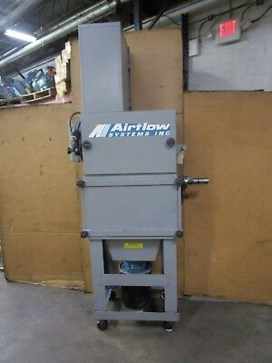 Airflow Systems V-2 Ap3-reg-pg7-exh-hop5gal-stand 2hp 480v 3ph Dust Collector