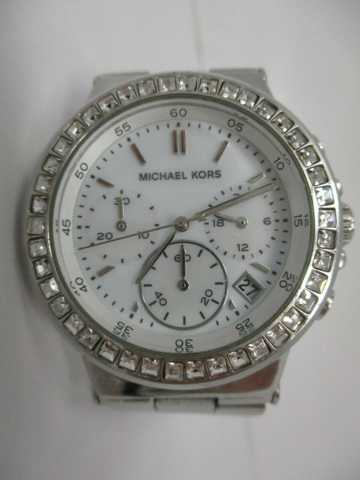 Michael Kors Women's Stainless Steel Watch With Crystal Accents MK5585