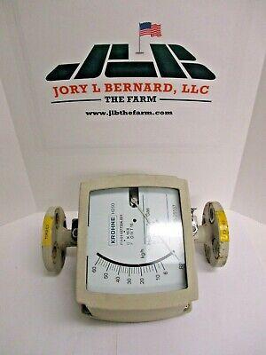 Krohne Flow Meter Hydrocarbon Gas H250rrm9r Used