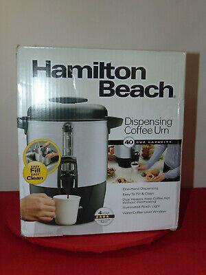 Hamilton Beach 40 Cup Dispensing Coffee Urn