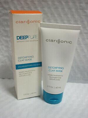 CLARISONIC DEEP PORE DETOXIFYING CLAY MASK 2 OZ BOXED