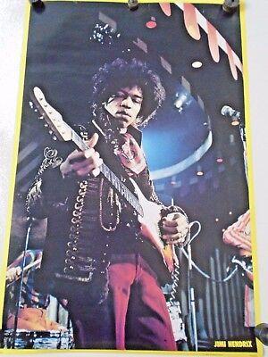 "Jimi Hendrix - RARE Orig. Vintage Poster. 1979 / Exc. new cond.- 23 x 35"" / #332"