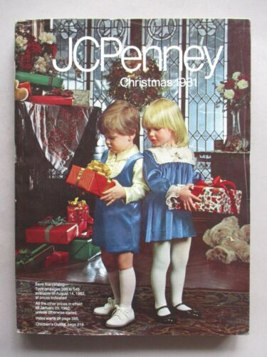 JCPenney CATALOG - Christmas, 1981 ~~ toys, toy, JCPenneys, Penneys